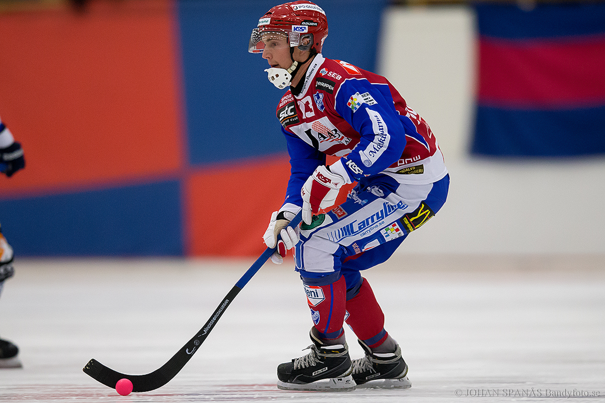 Ted Skoglund IFK Kungälv Foto Johan Spänås Bandyfoto (C)
