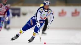#83 Daniel Andersson Villa Lidiköping (C) Johan Spanås Bandyfoto.se