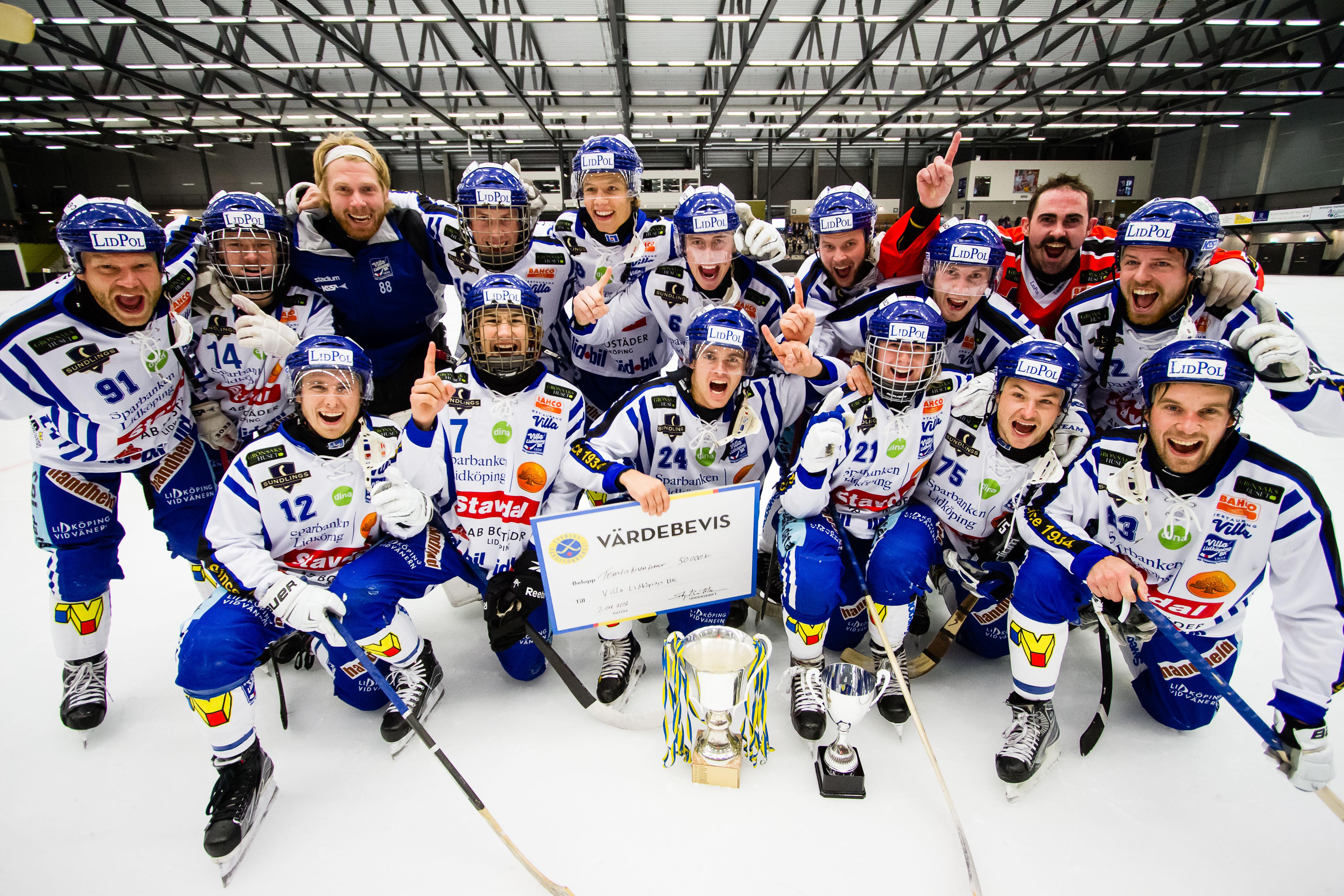Svenska Cupen 2016 Villa Lidköping Finalen: Sandvikens AIK - Villa Lidköping 2-3 (2-1)