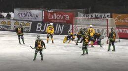 Frillesas BK-Broberg Söderhamns IF Skärmklipp Sportbladet Play BandyWorld